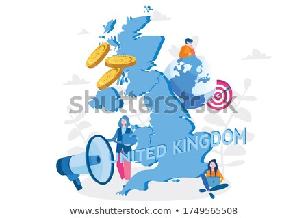 Welcome to Scotland people Stock photo © cienpies
