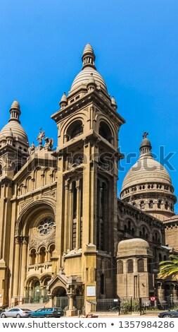 教会 詳細 サンティアゴ 2011 パリ スタイル ストックフォト © fxegs