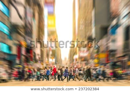 Signe de rue New York City USA signe Photo stock © ErickN