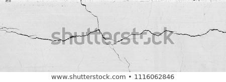 аннотация треснувший серый текстуры стены фон Сток-фото © DedMorozz