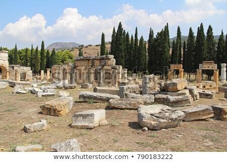 ősi · romok · építkezés · művészet · utazás · kő - stock fotó © mikko