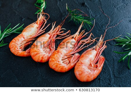 Stok fotoğraf: Crayfish In The Seagrass