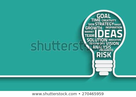 mentoring · krzyżówka · strony · piśmie · znacznik - zdjęcia stock © ivelin