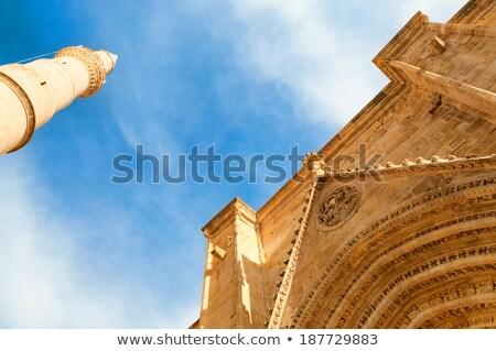 мечети собора Кипр небе путешествия флаг Сток-фото © Kirill_M