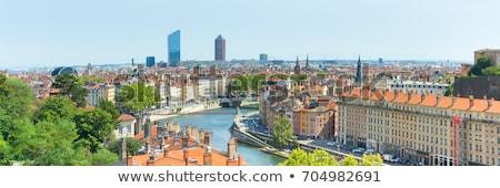 Ver Lyon cidade luz anjo Foto stock © vwalakte