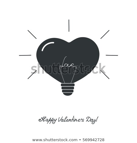 Lighten background with hearts for Valentine Day Stock photo © smeagorl