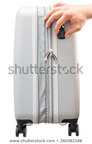 TSA compliant security lock on a case Stock photo © ozgur