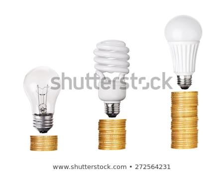 vs · lamp · centrum · abstract · ontwerp · witte - stockfoto © mhristov