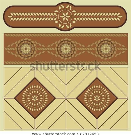 ルーマニア語 人気のある パターン ビッグ サイズ モチーフ ストックフォト © tony4urban