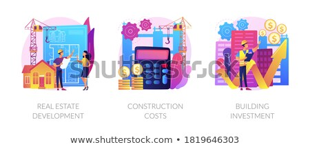 Budget Deal Violet Vector Icon Design Stock photo © rizwanali3d