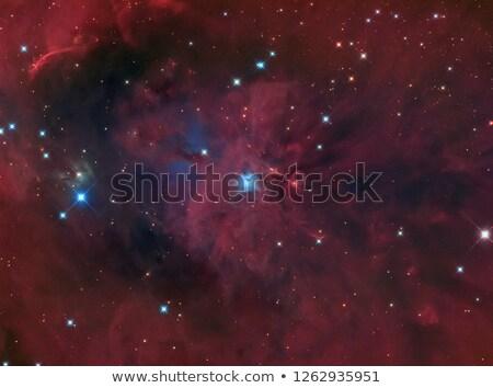 Réflexion nébuleuse image couleur gaz galaxie Photo stock © iofoto