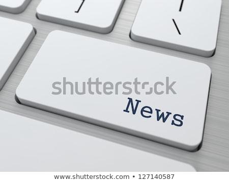 Sajtó gomb online olvas fekete billentyűzet Stock fotó © tashatuvango