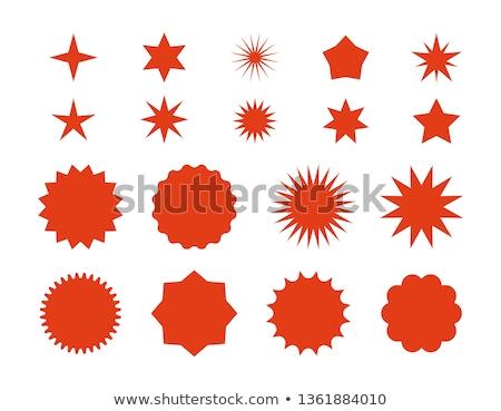 Flash Cloud Red Vector Icon Design Stock photo © rizwanali3d