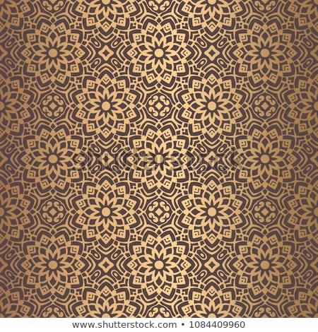 Mandala cuadrados ornamento tribales étnicas patrón Foto stock © frescomovie