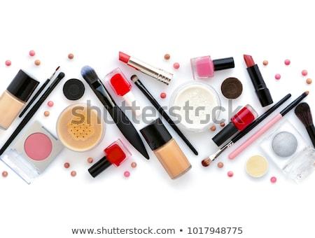 декоративный · косметики · красоту · женщины · щетка · объекты - Сток-фото © oleksandro