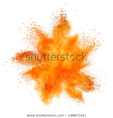 orange color burst background. Stock photo © user_9385040