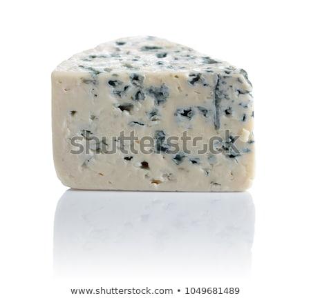 Wig schimmelkaas kaas witte achtergrond Stockfoto © Digifoodstock