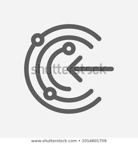 Secured Access Icon. Stock photo © WaD