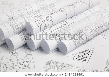 Идея · дизайна · плана · построить · инструкции · проект - Сток-фото © zurijeta