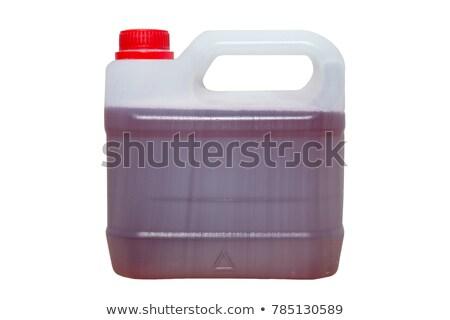 красный бензина контейнера иллюстрация белый науки Сток-фото © bluering