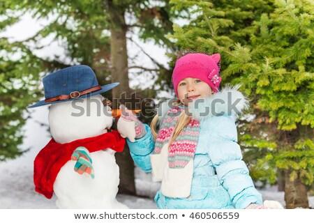 Many childran hands put on the wall Stock photo © zurijeta