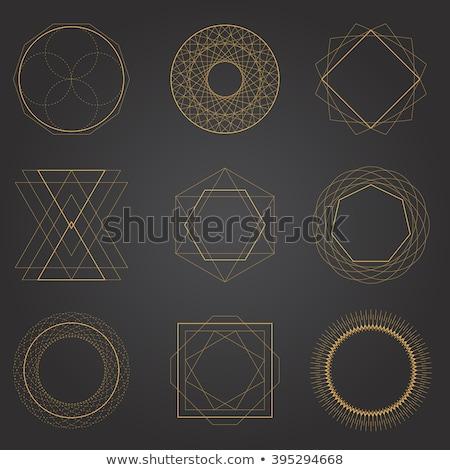 ダイヤモンド 幾何学的な シンボル デザイン 折り紙 スタイル ストックフォト © Natali_Brill