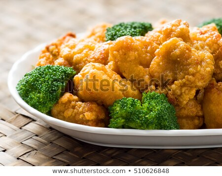 american chinese takeout general tso chicken Stock photo © zkruger