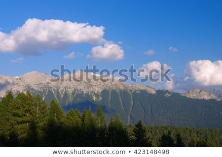 Cima di Undici and Val di Fassa Stock photo © LianeM