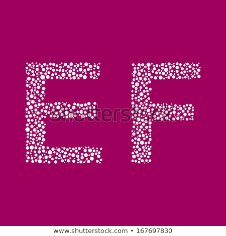 Edelstenen doopvont kostbaar stenen alfabet brieven Stockfoto © popaukropa