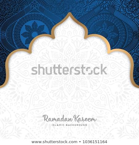 Mooie mandala decoratie bloem kunst Stockfoto © SArts