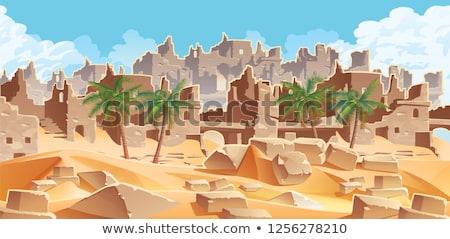 Stock photo: Ruins of ancient city
