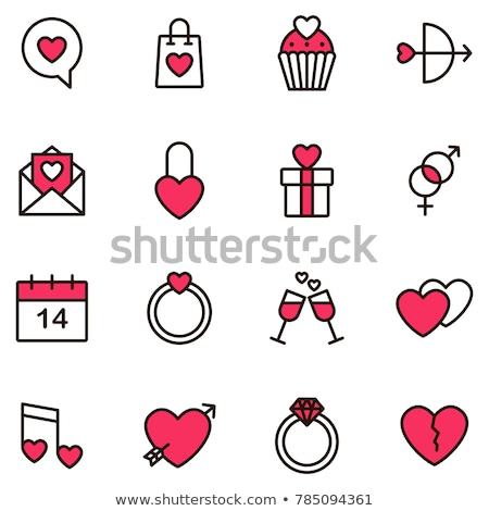 Icon  valentine day Stock photo © Olena