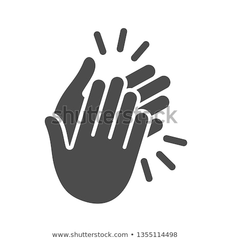 Icon clapping hands  Stock photo © Olena
