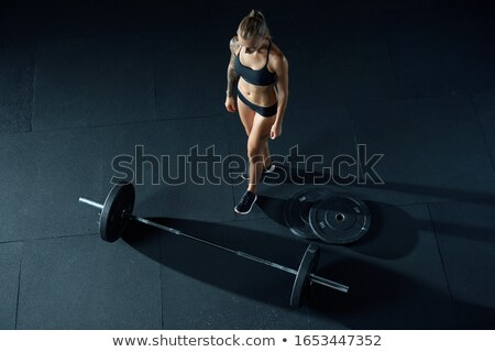 Girl in lift Stock photo © IS2