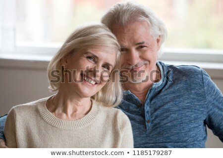 Portrait of couple facing camera Stock photo © IS2