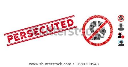 Double Persecution  Stock photo © Imabase