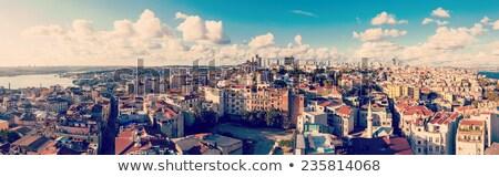 минарет · Стамбуле · Турция · мнение · Blue · Sky · небе - Сток-фото © givaga
