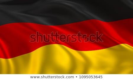 Германия · флаг · икона · изолированный · официальный - Сток-фото © amplion