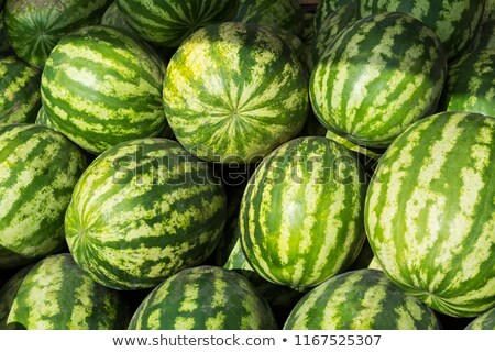Watermelon as abundance harvest symbol Stock photo © TasiPas
