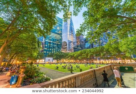 Bryant Park, New York, USA Stock photo © vladacanon