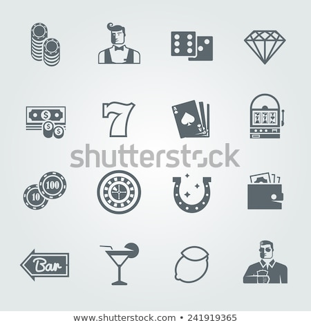 Stockfoto: Zwarte · vector · recreatie · web · mobiele · iconen