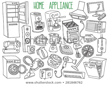 different types of home appliances stock photo © colematt