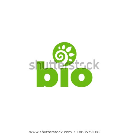 Spiral biyo daire bitki ekoloji yeşil Stok fotoğraf © blaskorizov