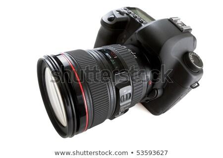icona · foto · fotocamera · zoom · lenti · lucido - foto d'archivio © robuart