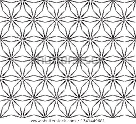 Virágmintás végtelen minta csillag forma textúra távolkeleti Stock fotó © Terriana
