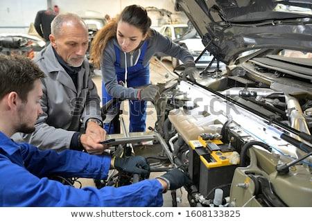 repairing automobile stock photo © pressmaster