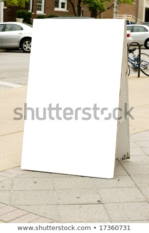 Line Street Sign Package Labels Stock photo © Anna_leni