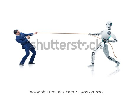 robots · 3D · tecnología · de · trabajo - foto stock © limbi007