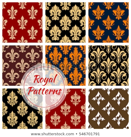 vintage · barok · patroon · ingesteld · vector - stockfoto © frimufilms