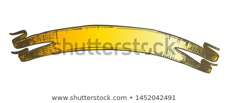 Color Promotional Website Element Ribbon Doodle Vector Stock photo © pikepicture